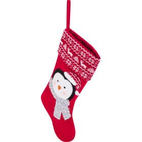 Фигурка декоративная «Носок с пингвином», 51 см