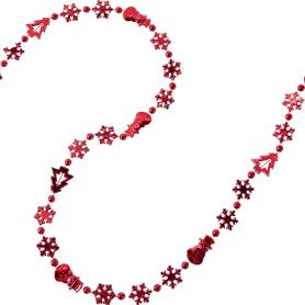 Гирлянда «Бусы» 270 см цвет красный