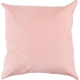 Подушка стёганая, 50х50 см, цвет дымчатая роза