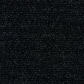 Дорожка ковровая «Granada 78», 1 м, цвет чёрный