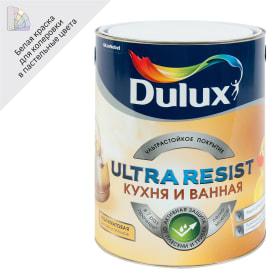 Краска для кухни и ванной комнаты Dulux UR база BW 5 л