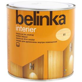 Покрытие защитно-декоративное для дерева Belinka Interier цвет прозрачный 0.75 л