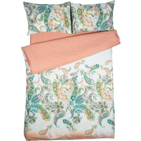 Комплект постельного белья «Пейсли», 1.5-спальный, сатин