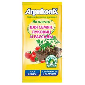 Средство для защиты садовых растений от болезней Агрикола «Экогель» для семян луковиц и рассады 20 мл
