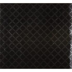 Дорожка ковровая «Травка», 0.9 м, цвет чёрный