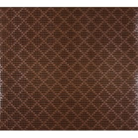Дорожка ковровая «Травка», 0.9 м, цвет коричневый