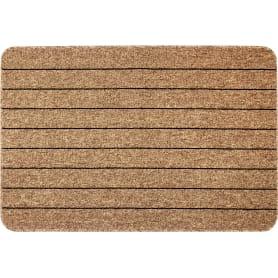 Коврик «Como», 80x120 см, полипропилен, цвет коричневый/чёрный