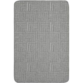 Коврик «Polar», 80x120 см, полипропилен, цвет серый/светло-серый