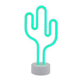 Ночник светодиодный Старт Neon «Кактус» на батарейках
