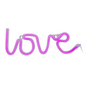 Ночник светодиодный Старт Neon «Love» на батарейках