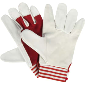 Перчатки для строительных работ с инструментом, кожа, размер 9