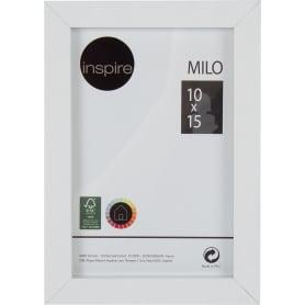 Рамка Inspire «Milo», 10x15 см, цвет белый