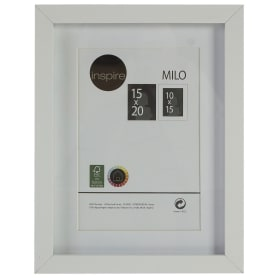 Рамка Inspire «Milo», 15x20 см, цвет белый