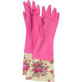 Перчатки латексные с манжетой Elfe, размер M