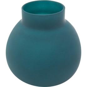 Ваза «Токио» 2 средняя, стекло, цвет тёмно-синий матовый