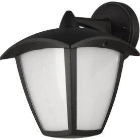Бра уличное светодиодное Lampione, 12 Вт, цвет чёрный