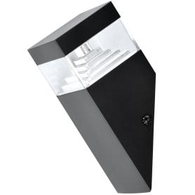 Бра уличное светодиодное Geometrico, 7 Вт, цвет чёрный