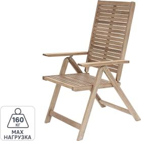Кресло садовое Naterial Solaris Origami складное 59х59х109.5 акация светло-коричневый