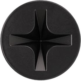 Саморезы для гипсокартона Standers 3.5x25 мм цвет чёрный, 3 кг