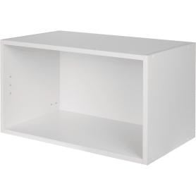 Каркас навесной 60x35x35 см, ЛДСП, цвет белый