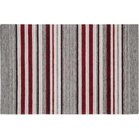 Коврик «Сабрина 45», 55x85 см, шенилл, цвет серый