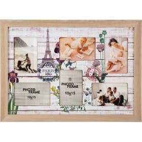 Рамка «Париж», 6 фото, 36x52 см