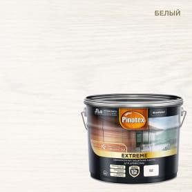 Лазурь для дерева Pinotex цвет белый 9 л
