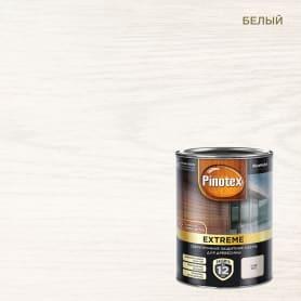 Лазурь для дерева Pinotex цвет белый 0.9 л