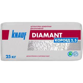 Штукатурка декоративная Knauf Диамант короед 2.5 мм 25 кг