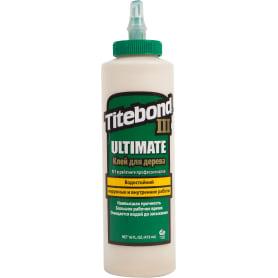 Клей Titebond III «Ulimate Wood Glue» влагостойкий цвет кремовый 473 мл