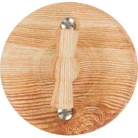 Выключатель проходной накладной Electraline Bironi Ретро 2 положения цвет карельская сосна