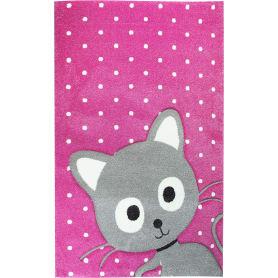Ковёр Art Kids 78RVR, 1.2x1.7 м, цвет розовый