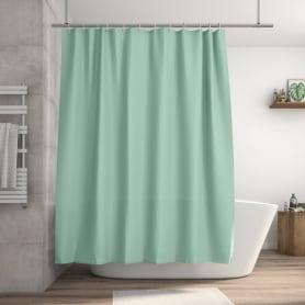 Штора для ванны Happy 180x200 см полиэстер цвет мятный