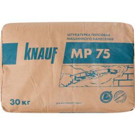Штукатурка механизированная гипсовая Knauf МП 75 30 кг