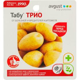 Средство для защиты картофеля от болезней и вредителей «Табу Трио»