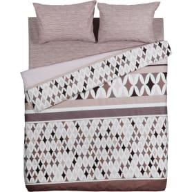 Комплект постельного белья Василиса Территория уюта двуспальный бязь коричневый
