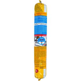 Герметик для всех типов швов Sika Sikaflex Construction 600 мл черный