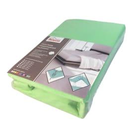 Простыня 200х200 см, трикотаж, цвет зелёный