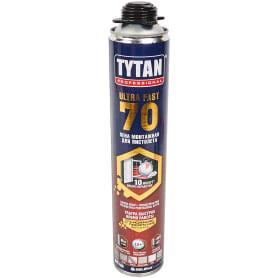 Пена монтажная пистолетная Tytan Ultra Fast 70 всесезонная 870 мл