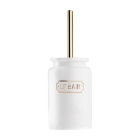Ёршик для унитаза Le Bain Blanc цвет золотой