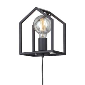 Настенный светильник «Домик», цвет чёрный