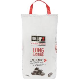 Брикеты топливные Weber Long lasting  уголь 2.5 кг