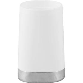 Стакан для зубных щёток Gloss пластик цвет белый