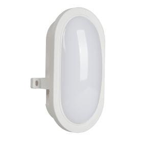 Светильник ЖКХ светодиодный IP44, накладной, цвет белый