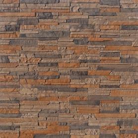 Плитка декоративная Хайлэнд, цвет тёмно-коричневый, 0.43 м²