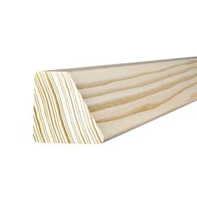 Брусок декоративный скошенный санги сосна 40х40х2200 мм сращ сорт Экстра без сучков