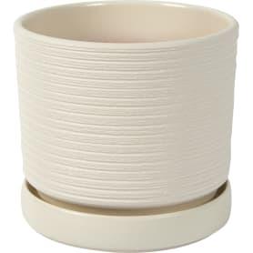 Горшок цветочный Лоза ø18 h16.5 см v2.6 л керамика белый