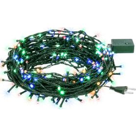 Электрогирлянда светодиодная Balance «Нить» для дома 300 ламп 23 м, цвет мультиколор