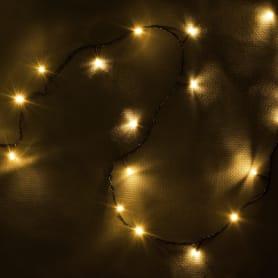 Электрогирлянда светодиодная Balance «Нить» для дома 300 ламп 23 м, цвет тёплый белый