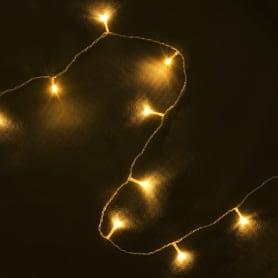 Электрогирлянда светодиодная Balance «Занавес» для дома 156 ламп 1.5 м, цвет тёплый белый